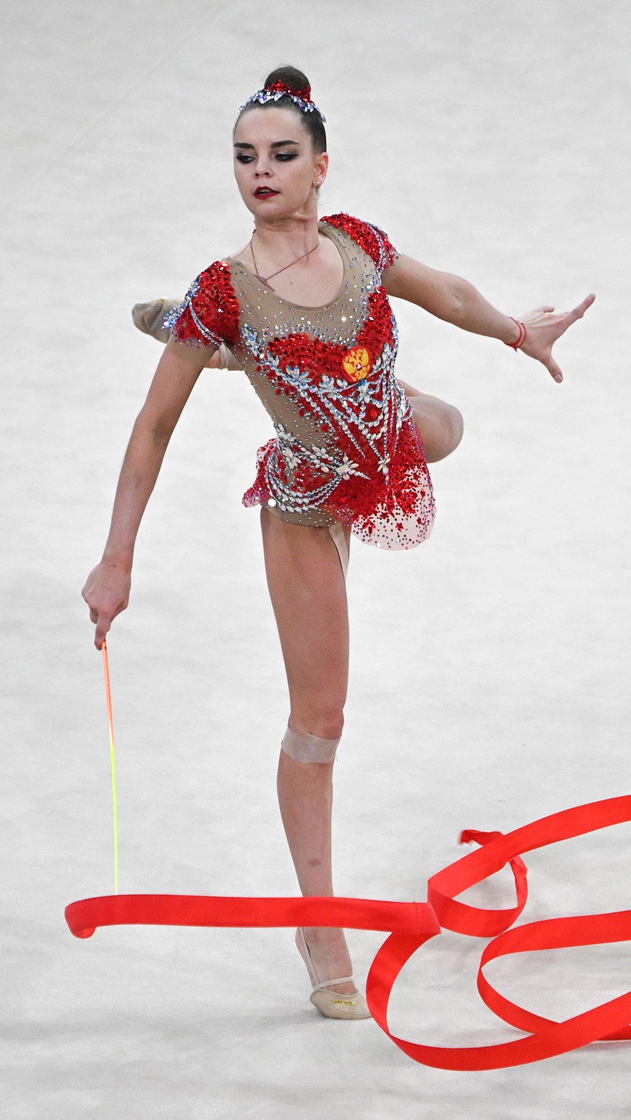 Российские гимнастки — лучшие на репетиции Олимпиады