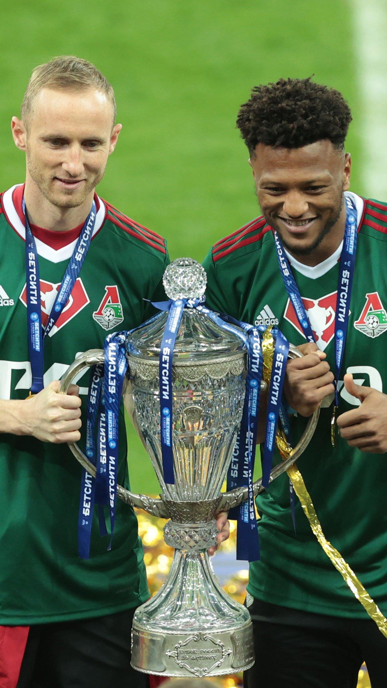 Зе Луиш становился чемпионом России и обладателем Суперкубка со «Спартаком», а теперь выиграл трофей с «Локо».