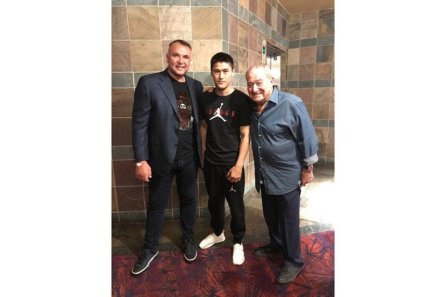 Большое интервью с перспективным российским профессиональным боксёром Дмитрием Юном