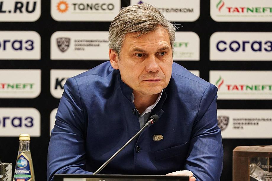 Рафик Якубов и Дмитрий Квартальнов подвели итоги сезона-2020/2021 для «Ак Барса»