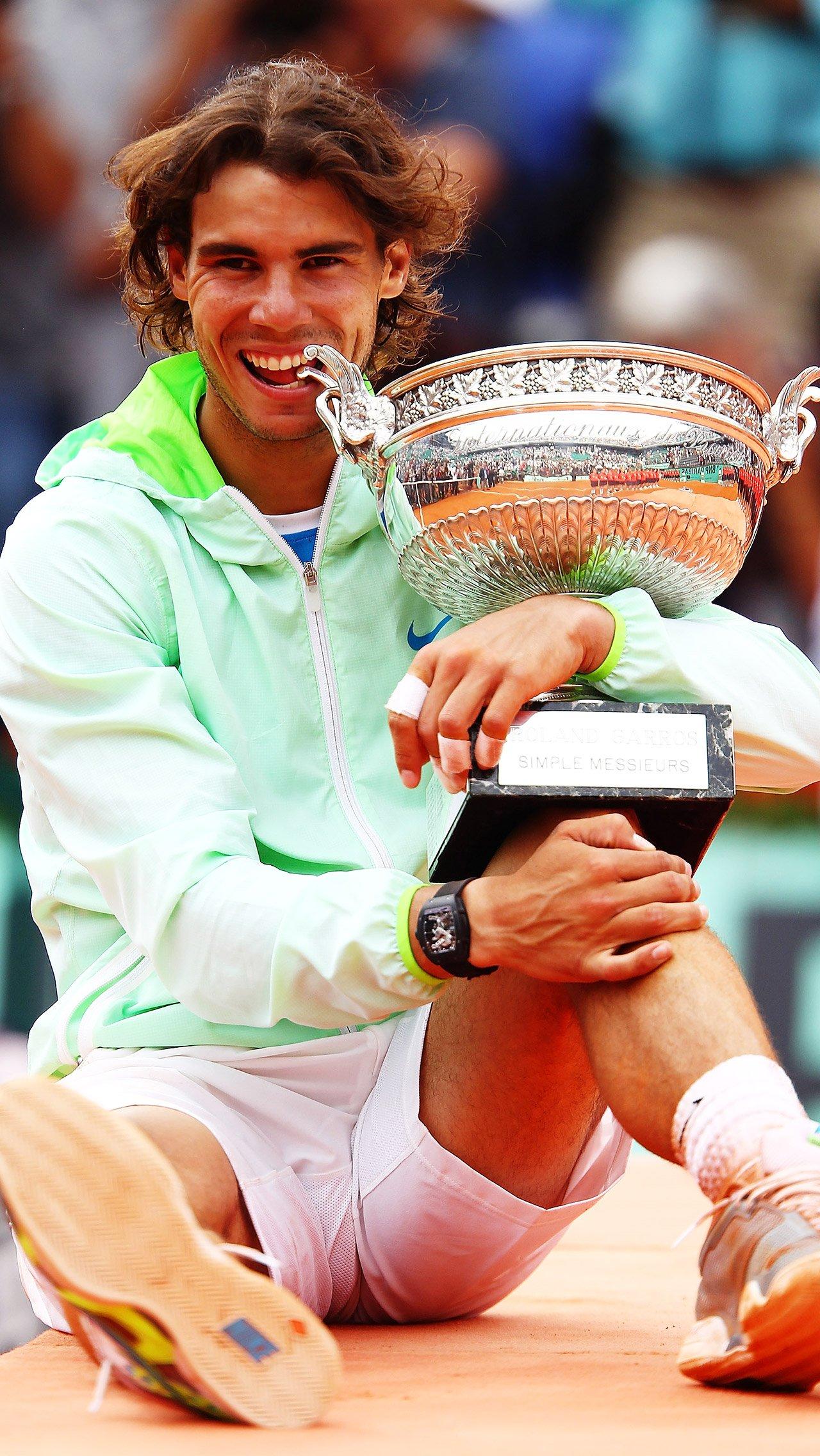 С 2010 по 2014 годы Надаль довёл число побед в Париже до 9.