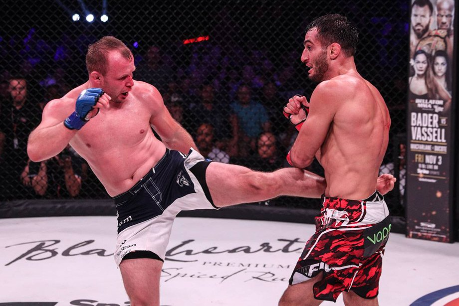 Александра Шлеменко засудили в бою с Гегардом Мусаси на турнире Bellator 185