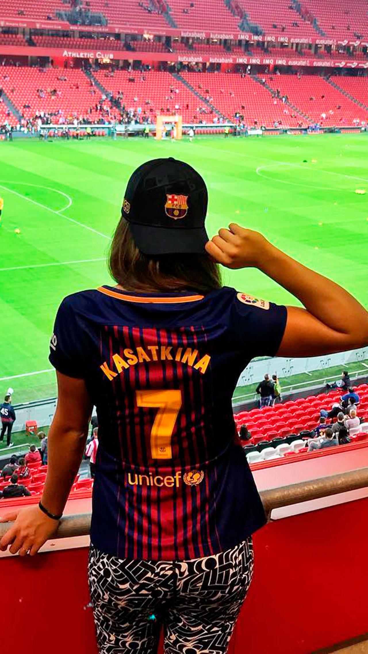 Дарья Касаткина<br/> «Барселона»