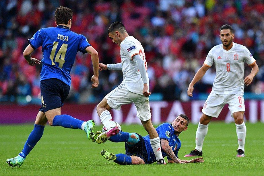 Испания вылетела, хотя сломала Италии игру. Это был матч, достойный финала