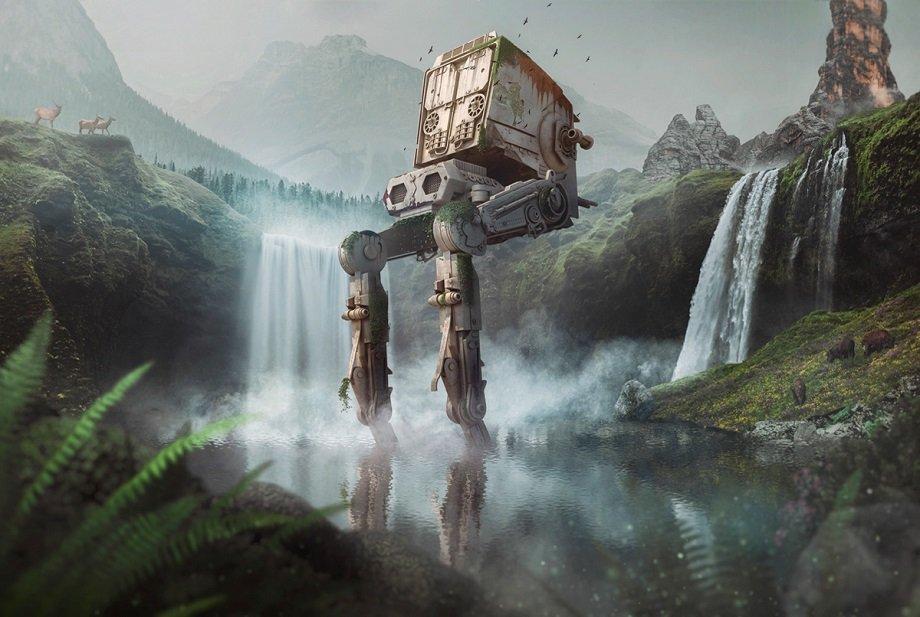 AT-ST из Star Wars