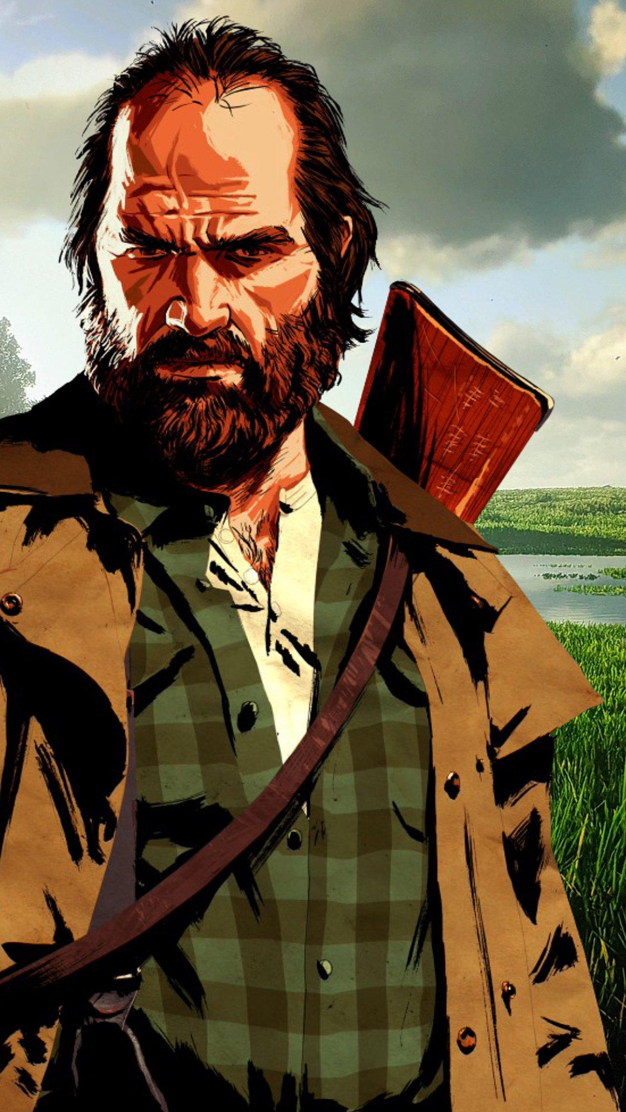 Внук подарил дедушке Xbox, и тот сыграл 2000 часов в Red Dead Redemption