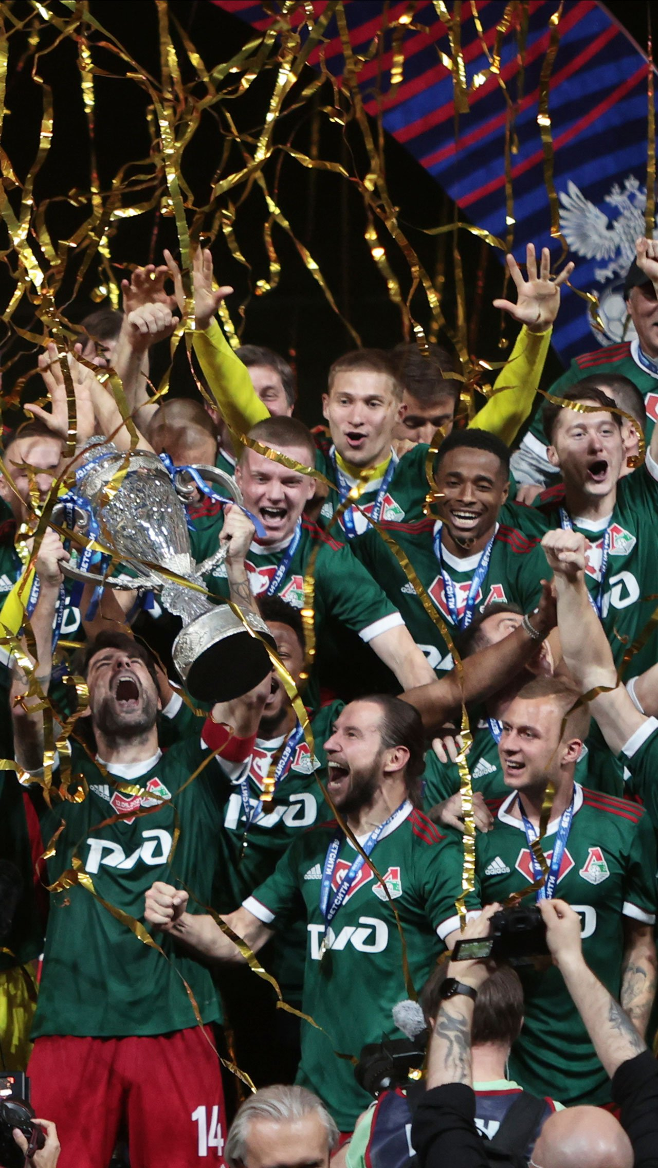 Марко Николич выиграл первый трофей с «Локомотивом» и пятый в своей карьере.