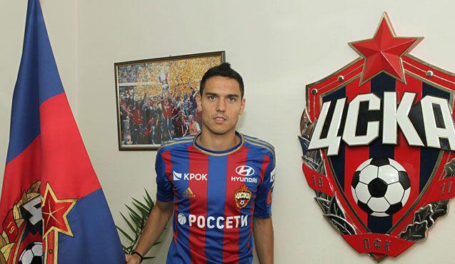 ЦСКА объявил о подписании пятилетнего контракта с Милановым