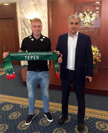 Брызгалов перешёл из «Спартака» в «Терек»