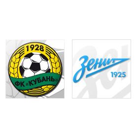 «Кубань» — «Зенит»: онлайн-трансляция матча начнётся в 18:30