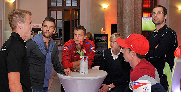 Футболисты сборной Чехии смотрели матч Германия — Португалия в чешском доме