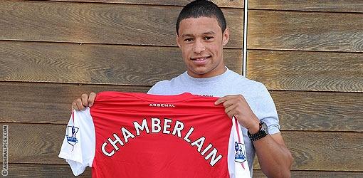 """""""Арсенал"""" официально подтвердил переход Окслейд-Чемберлена"""