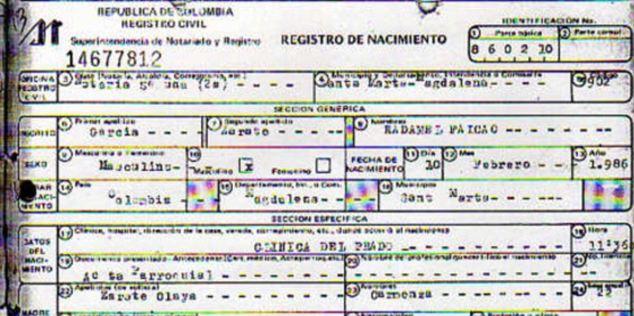 Колумбийская пресса подтвердила, что Фалькао 27, а не 29 лет