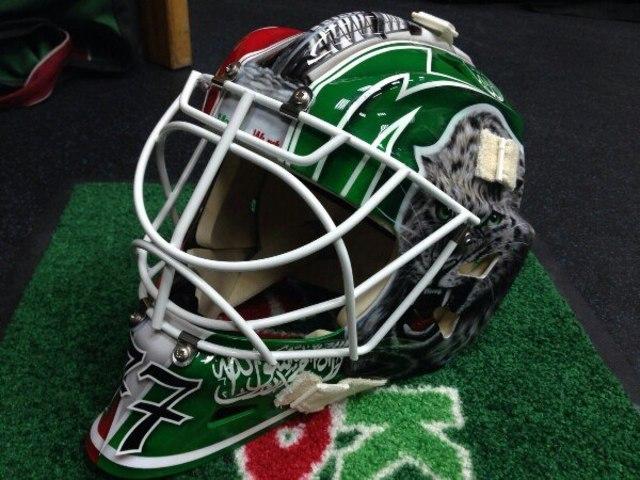 Новый шлем Гарипова