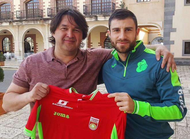 «Уфа» подписала договор сзащитником сборной Словении