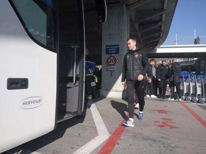 ЦСКА прибыл во Францию