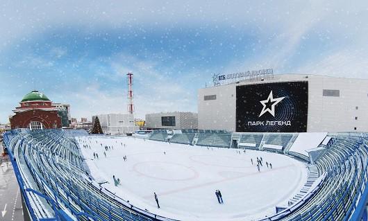 В российской столице заработает первая в РФ открытая ледовая арена