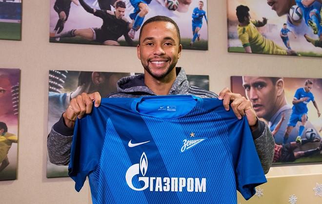 «Зенит» объявил о заключении пятилетнего контракта с Эрнани