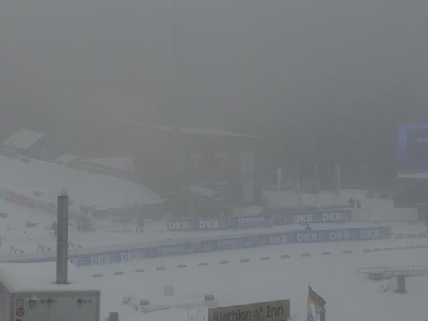 На Оберхоф опустился туман