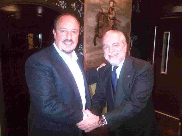 """Президент """"Наполи"""" де Лаурентис: Бенитес — новый главный тренер """"Наполи"""""""
