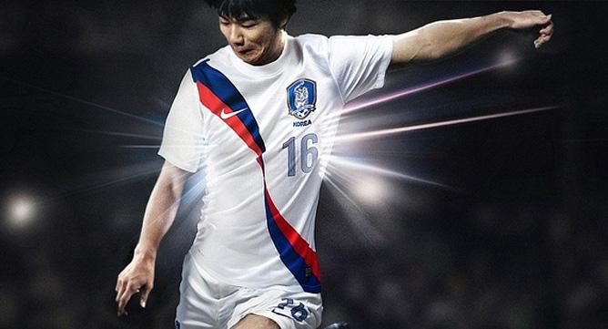 Новая гостевая форма сборной Южной Кореи