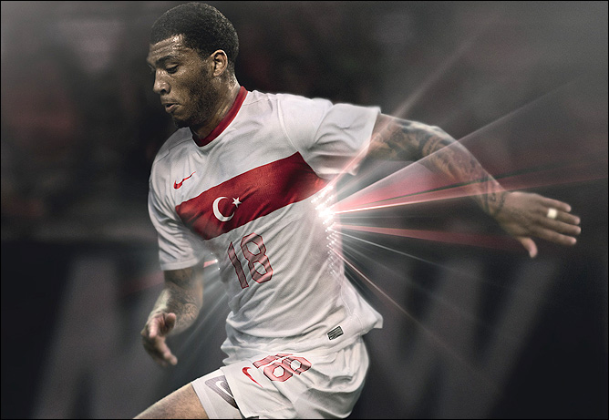 Новая гостевая форма сборной Турции