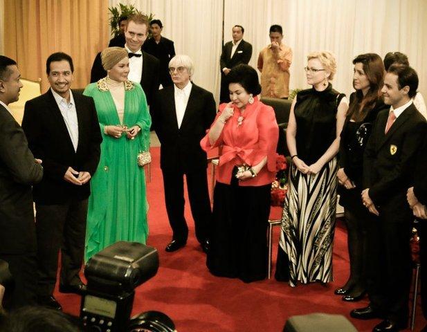 Приём у властей Малайзии