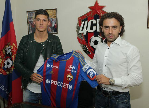 Цубер поставил подпись под пятилетним контрактом с ЦСКА