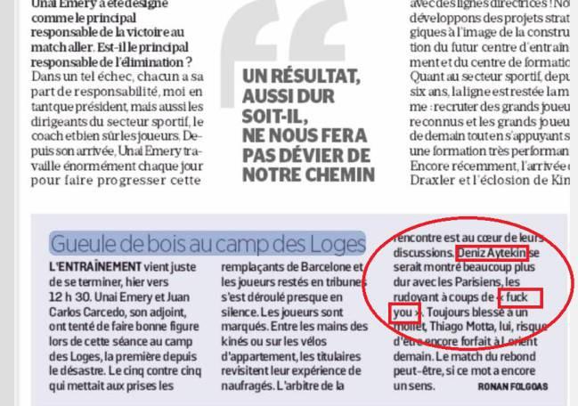 Источник: судья посылал игроков «ПСЖ» во время матча с «Барселоной»