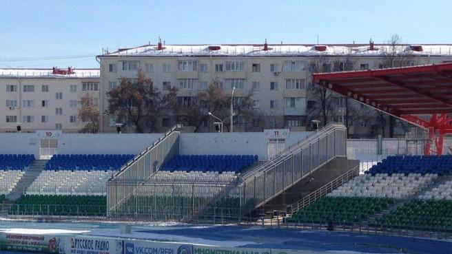 Фанаты «Уфы» требуют убрать решётки с фан-сектора стадиона