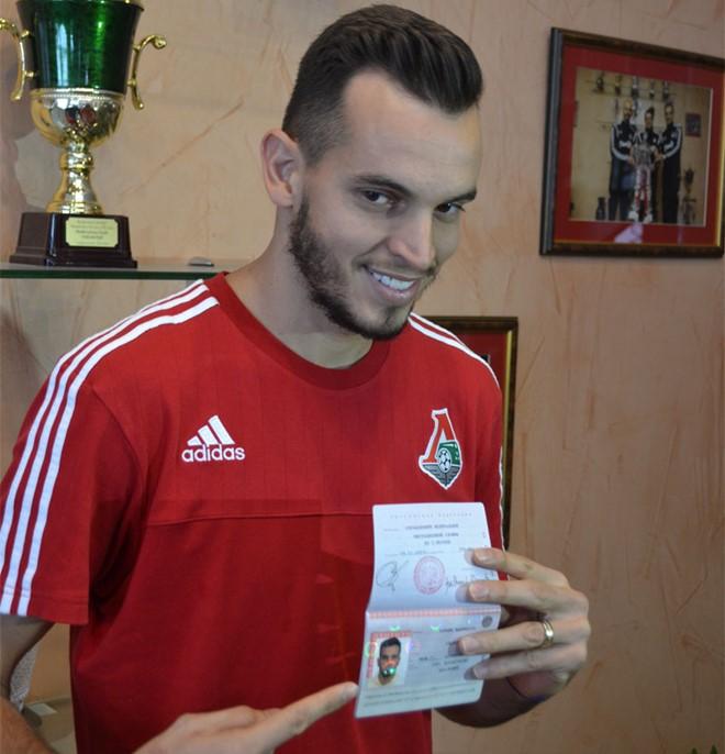 Гильерме с российским паспортом
