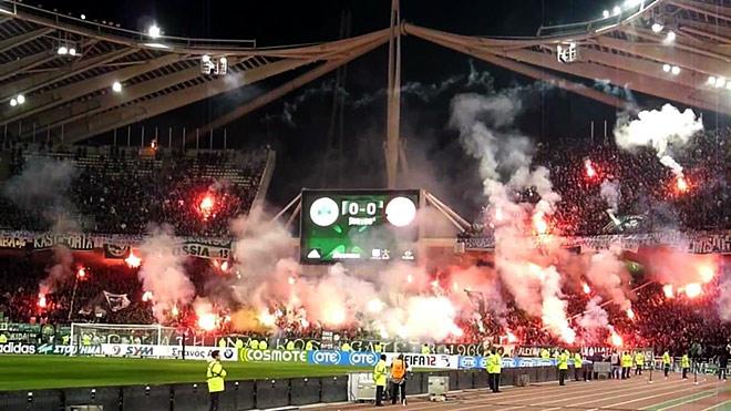 Апелляция «Панатинаикоса» на снятие трёх очков за беспорядки фанатов отклонена