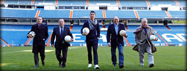 """""""Реал"""" возвёл Роналду в статус легенды клуба"""