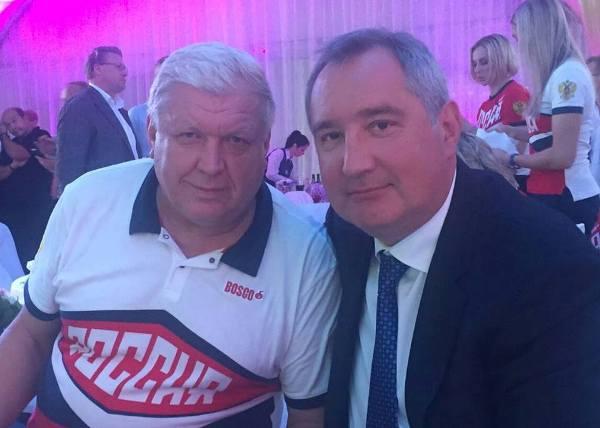 Евгений Трефилов и Дмитрий Рогозин