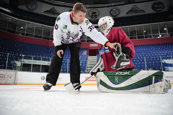 В Школах Дацюка и Брызгалова пройдут мастер-классы для юных хоккеистов