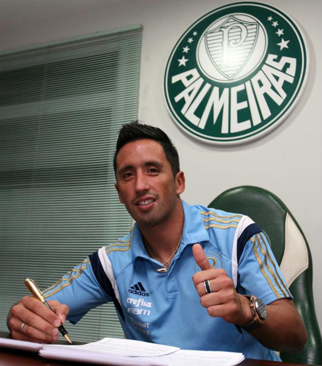 Лукас Барриос подписал трёхлетний контракт с «Палмейрасом»