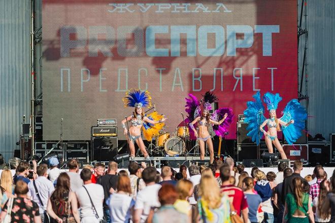 Спортивно-музыкальный фестиваль «PROспорт-парк»