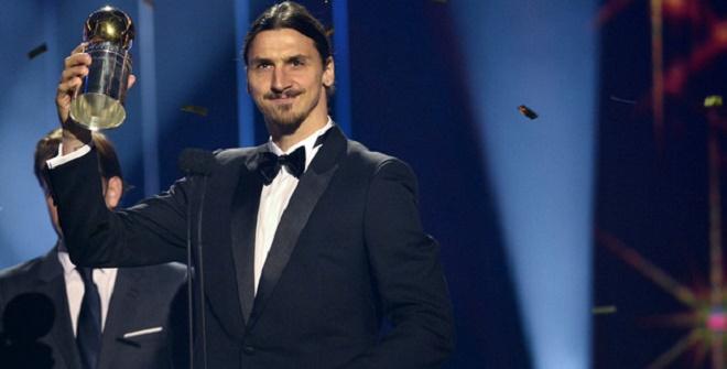 Ибрагимович в десятый раз признан игроком года в Швеции