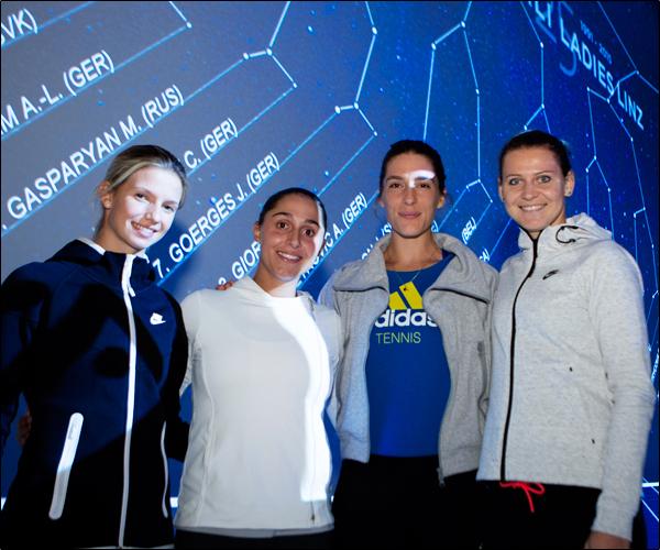Петкович и Шафаржова приняли участие в необычной жеребьёвке турнира в Линце