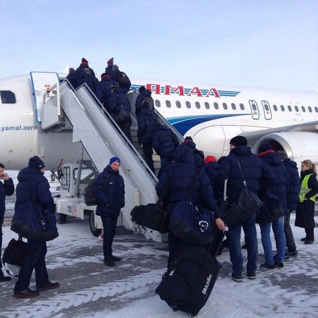 Самолет компании «Сухой»