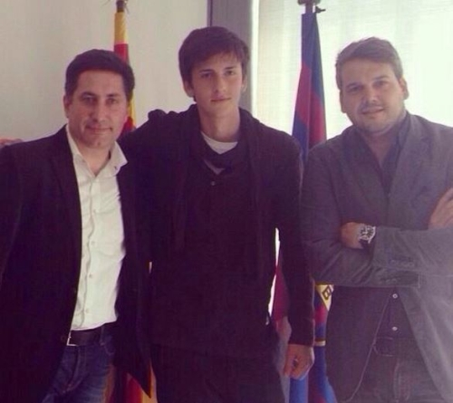 Амир Натхо перешёл в «Барселону»