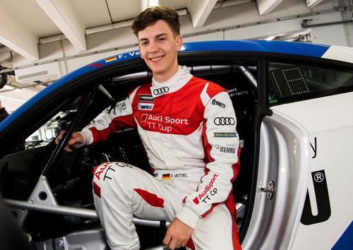 Фабиан Феттель дебютрует в Audi Sport TT Cup