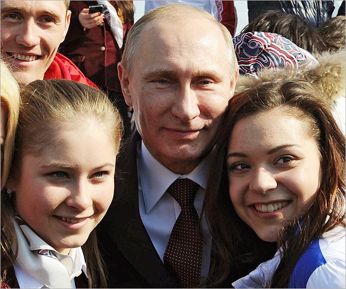 СОЧИ-2014. ПУТИН ВРУЧИЛ ГОСНАГРАДЫ ГЕРОЯМ ОЛИМПИАДЫ В СОЧИ. ЛУЧШИЕ ФОТО