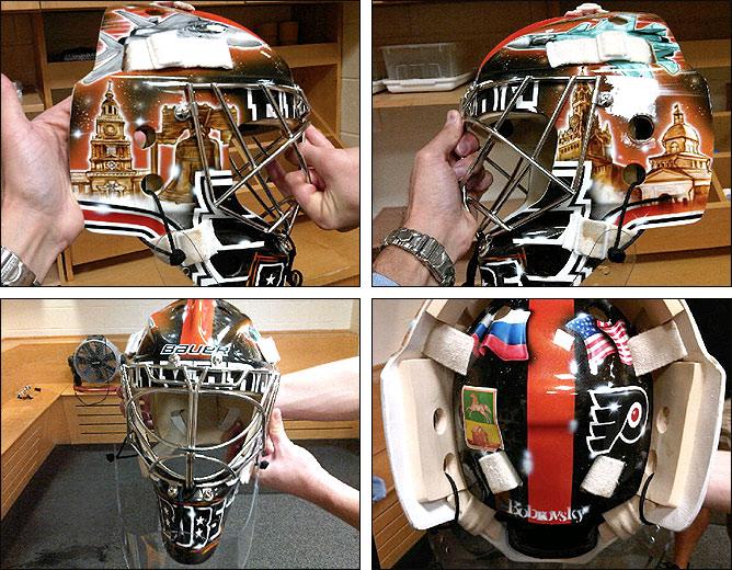 Бобровский представил свою новую вратарскую маску