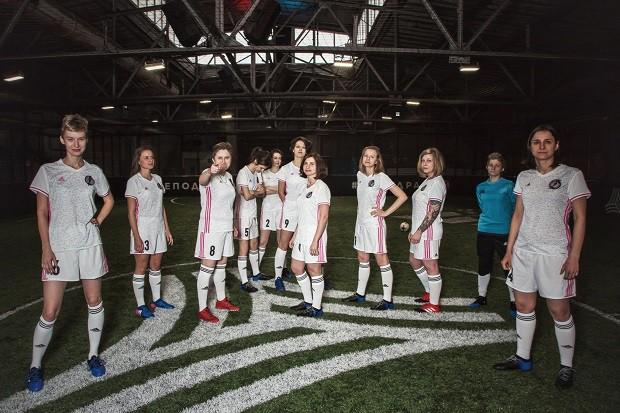 Аdidas представил первую в России форму для женского футбольного клуба