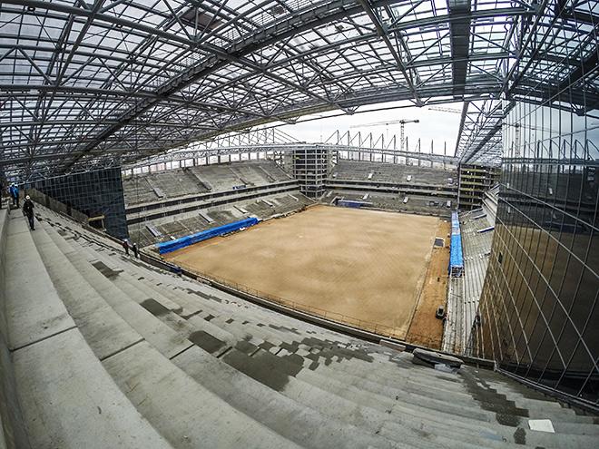 Фоторепортаж с экскурсии по строящемуся стадиону ЦСКА