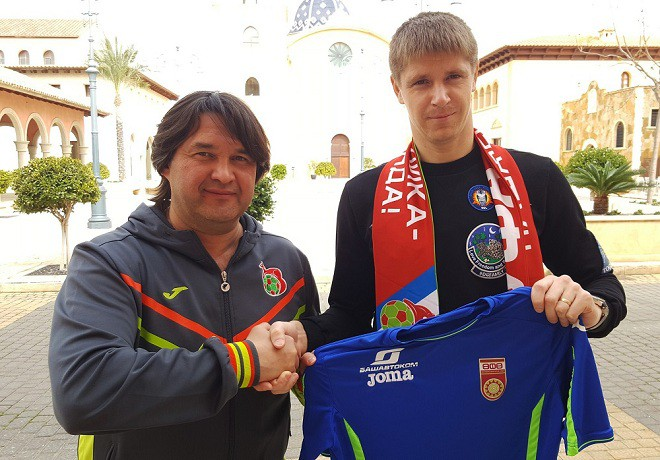 Вратарь Беленов перешел из«Анжи» в«Уфу»