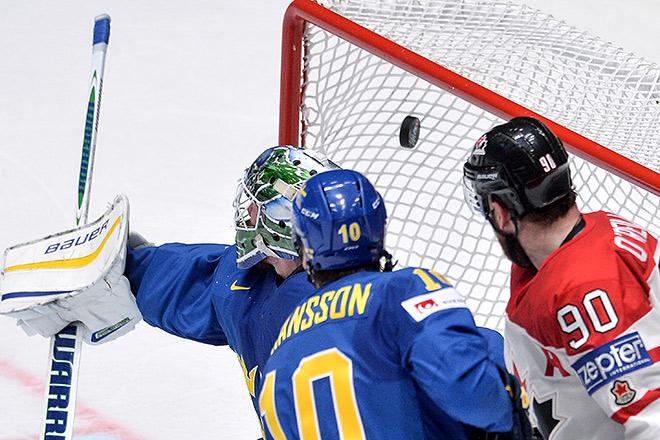 Канадцы разгромили шведов ивстретятся в ½ финала сосборной США