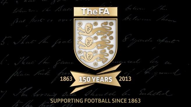 Футбольная ассоциация Англии обнародовала герб, посвящённый 150-летнему юбилею