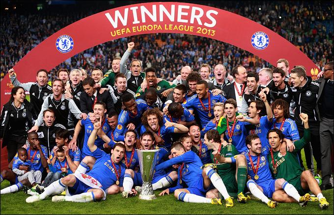 """""""Челси"""" – победитель Лиги Европы 2012/13!"""